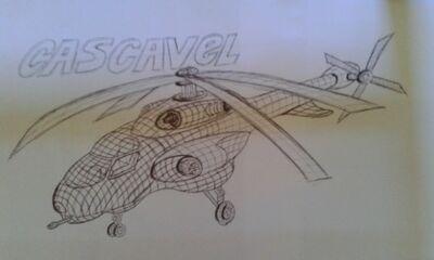 Helicóptero de Ação Ostenciva Cascavel
