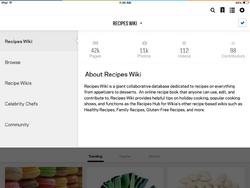 Recipes wikia