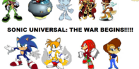Sonic Universal: The War BEGINS!