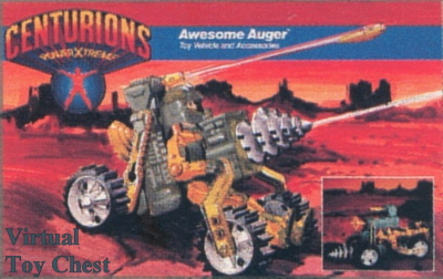 Awesome Auger (Unproduced) | The Centurions Wiki | FANDOM ...