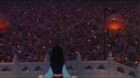 MULAN- L'imperatore onora Mulan