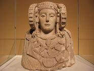 Dama de Elche. Museo arqueologico