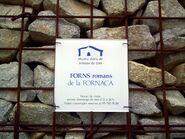 Catalonia VilassarDeDalt FornsRomansFornaca Placa