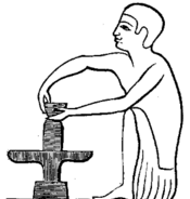 C+B-Pottery-Fig7-EgyptianHandTurnedPottersWheel