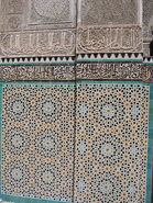 Fes Medersa Bou Inania Mosaique2