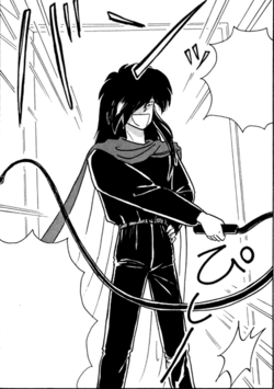 Rascal in the original manga