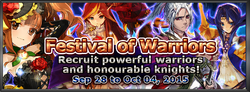 Festival of Warriors