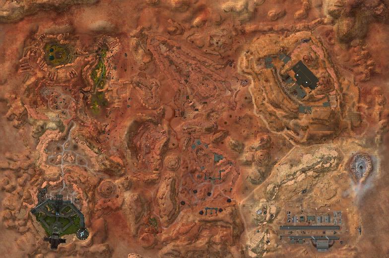 The Desert Map