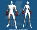 Armor Gauntlet Spiked (Hands)