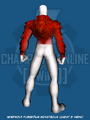 Werewolf Furmedium Monstrous (Chest & Arms) - Back