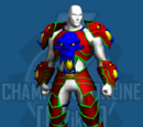 Dark Fantasy Armor Costume Set