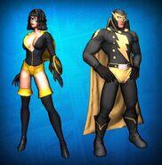 Golden Age Costume Set Detail 2