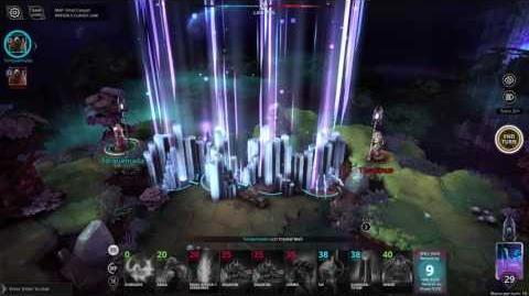 Crystal Wall - Casting (Chaos Reborn Wiki)
