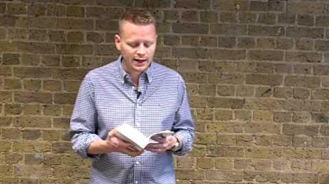Patrick Ness reads from The Ask and the Answer