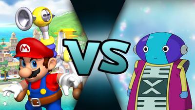 Mario VS Zen-Oh