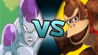 Final Form Frieza VS Donkey Kong