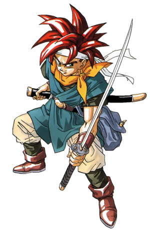Chrono Trigger - Crono as he first appeared for Super Nintendo