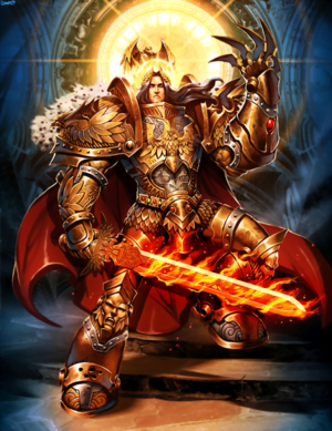 Warhammer 40000 - The God Emperor of Mankind