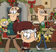 The Loud House Howard McBride and Dad