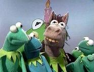 Kermit-horse
