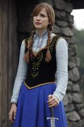Anna with a sword in OUAT