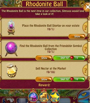 Rhodonite Ball