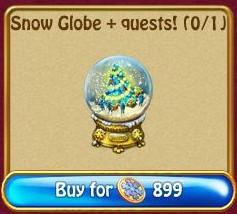 Tree Snow Globe