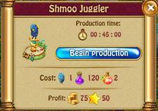 Shmoo juggler P