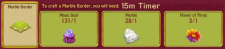 Marble border