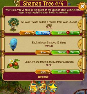 Shaman tree 4 of 4