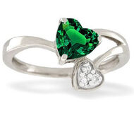 White-gold-lab-created-emerald-ring