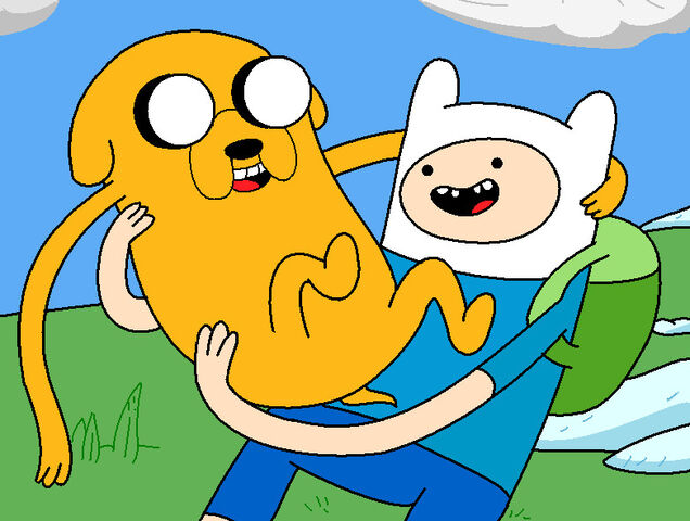 File:Adventure Time Finn and Jake by NiGHTSfanKevin.jpg