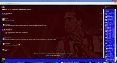 PrntScr Diego Godin Chat Skin Full Screen