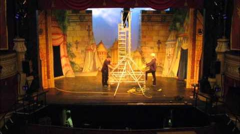 Panto Production Timelapse - Devonshire Park Theatre 2011 12