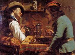 Les-joueurs-de-Jeu-de-Dames-1844