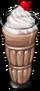 Dish-Chocolate Malt Milkshake