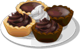 Dish-Chocolate Tartlets