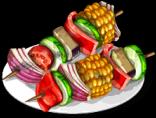 Dish-Vegetable Skewers