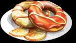 Dish-Orange Donuts