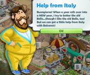 Help from Italy