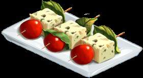 Recipe-Cheese Skewers