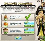 Domestic Pumpkins