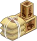 Buildable-Medium Coffee Crate Open