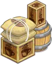 Buildable-Large Coffee Crate Open