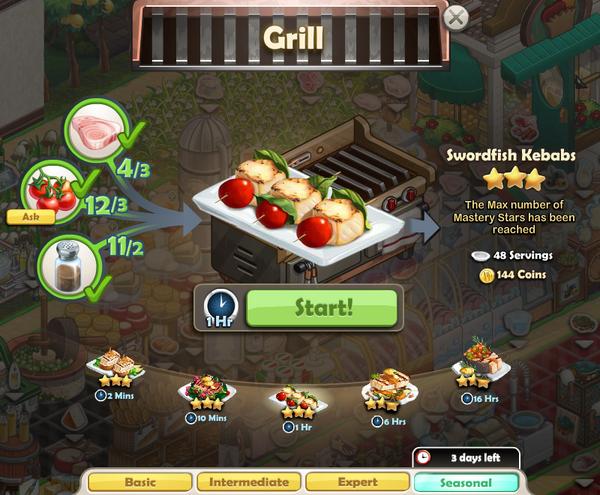 Recipe-Swordfish Kebabs
