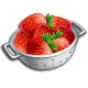 Material-Strawberry Strainer