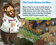 The Seeds Make the Bun