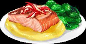 Recipe-Salmon and Buttery Turnip Puree