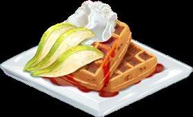 Recipe-Gingerbread Waffles