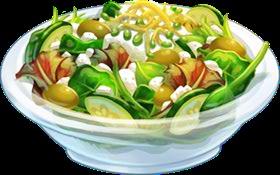Recipe-Mediterranean Salad